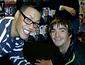 Nathan Doidge, most disabled pilot, with Gok Wan