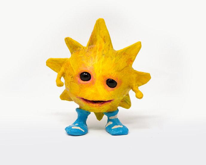 Ray the Sunburst Sculpture