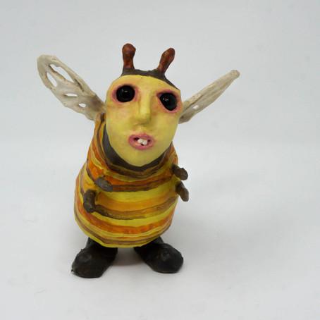 """Just Bee...Wonderfully Weird Wonders"" Art Show"