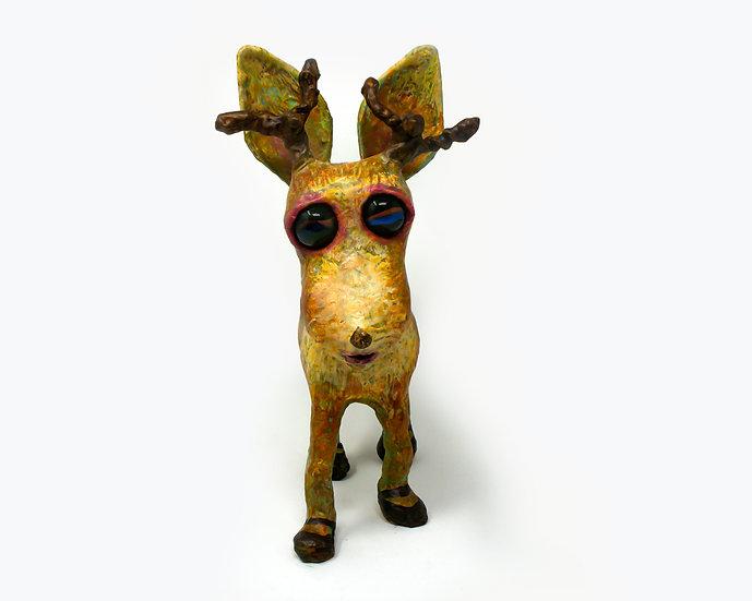 Rudi the Reindeer Sculpture