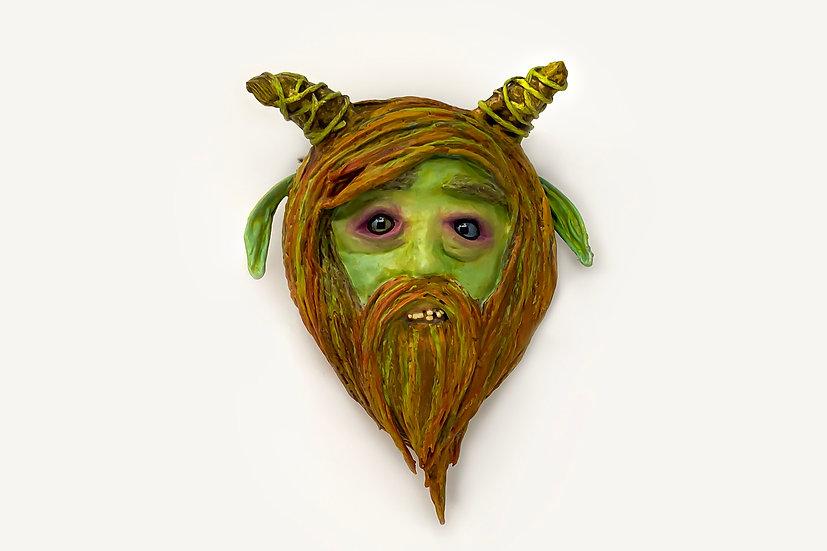Magnus Face Mask Wall Sculpture