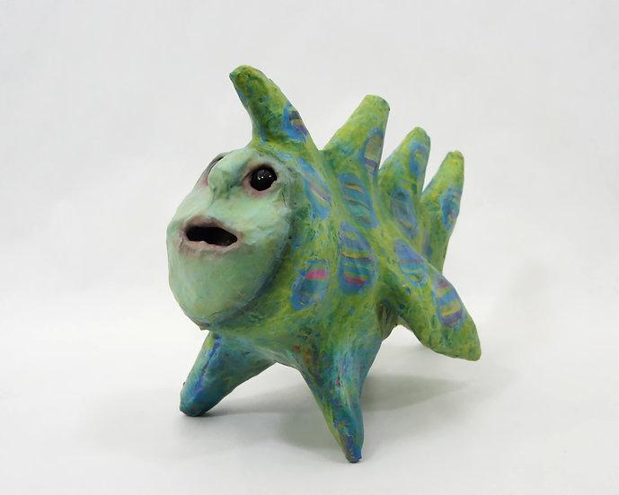 Falcor the Fish Sculpture
