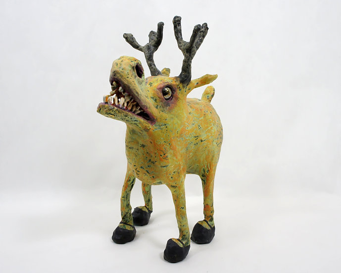 Maurice the Moose Sculpture