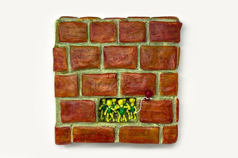Block Party No.3 Wall Sculpture