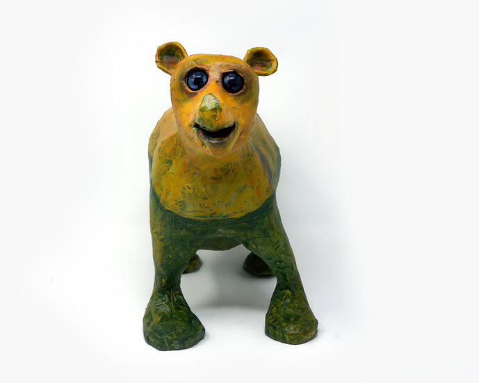 Forester the Brown Bear Sculpture
