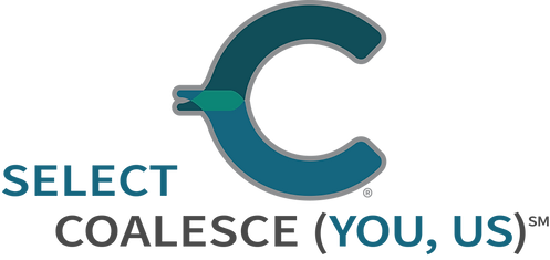 Coalesce SELECT YOU, US