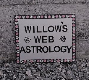 rhinestone WWA sign against concrete SLA