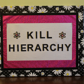 New Punk Art Duct Tape Canvases at the Willow's Web Astrology Etsy Shop