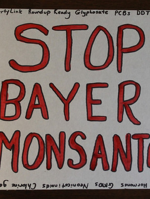 Stop Bayer-Monsanto's Crimes Against Humanity, Animals, and the Environment!