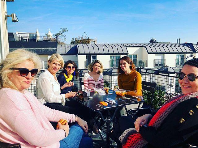 Pause déjeuner au soleil, on peut dire q