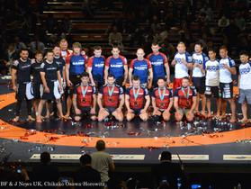 Dream Champion Marius Žaromskis in QUINTET.1 Japan