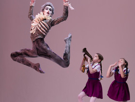 London Children's Ballet 'The Canterville Ghost' in Peacock Theatre