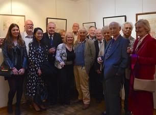 イギリス人画家:ギャラリー54にてポール・ウィナー氏の特別展