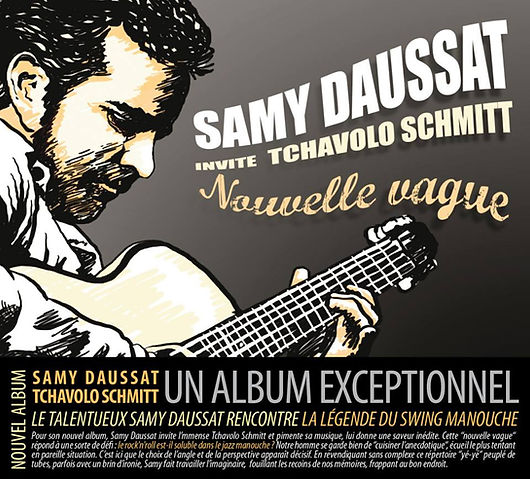 Samy, Daussat,Tchavolo, Schmitt,Jazz manouche,swing,guitariste,musique,Paris,Nouvelle Vague