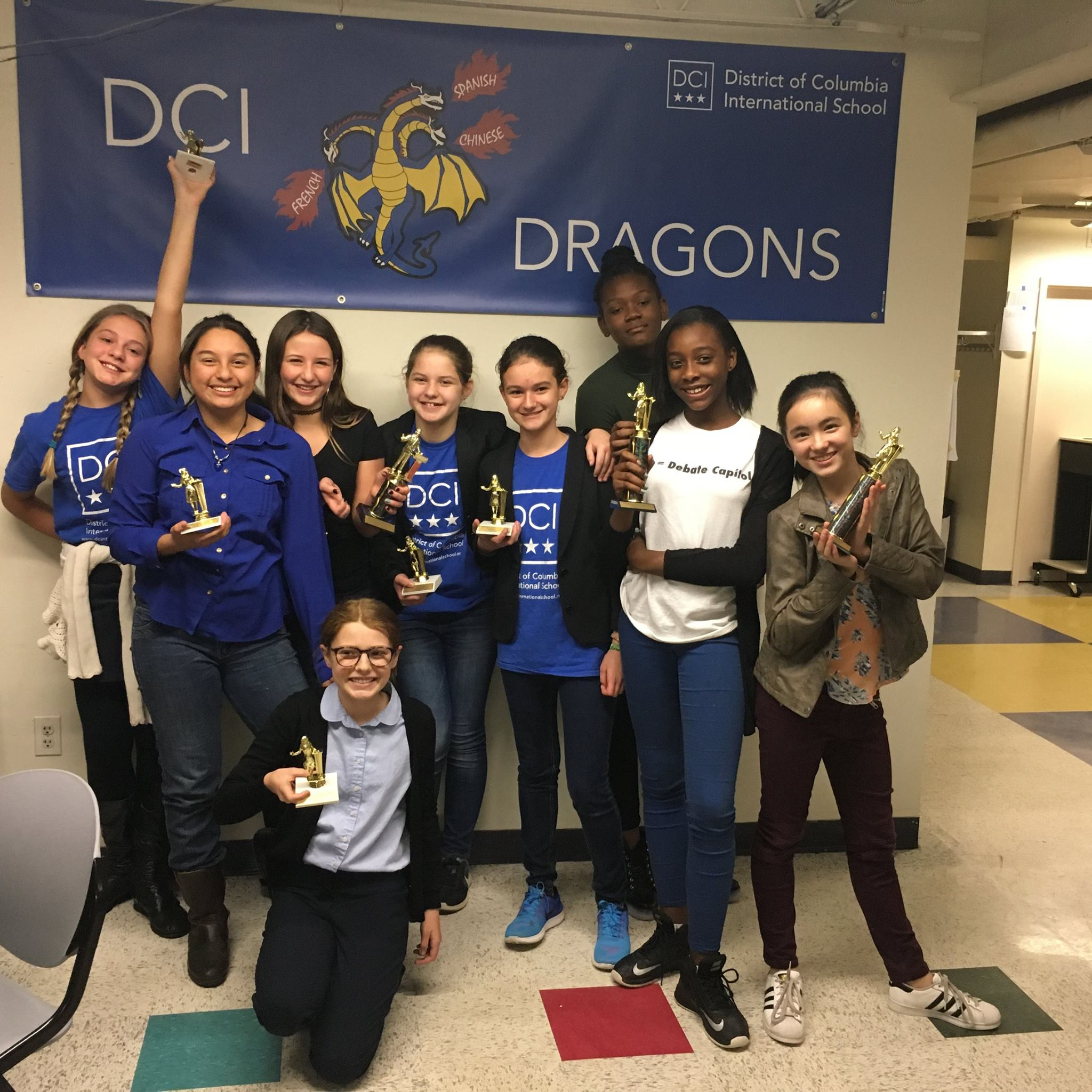 Second DC International Invitational, many first time trophy winners