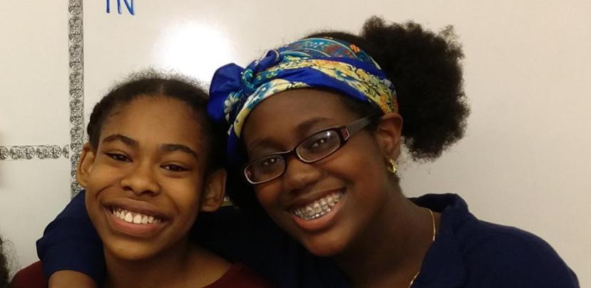 Maya and Aisha, Kenmoor