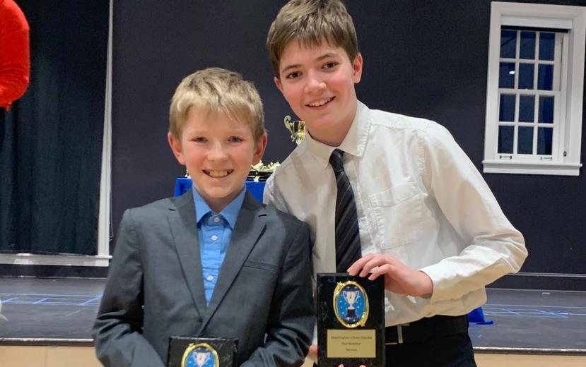 Aidan and William, Stuart Hobson