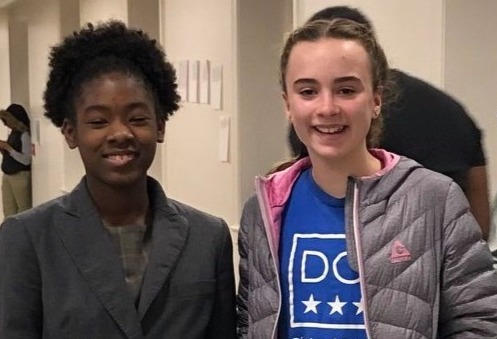 Madison and Gabriela, DC International