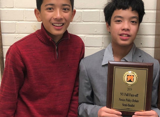 Capital City's Villaflor and Mallia win 3rd place at New York Fall Face-Off