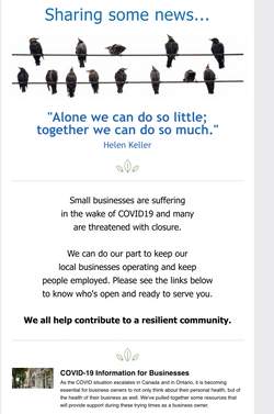 Helping Local Business