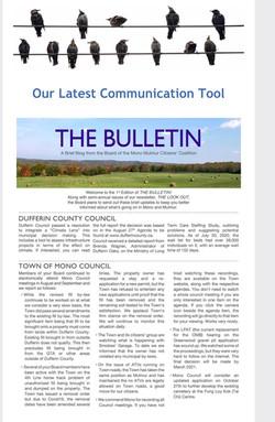 1st Bulletin