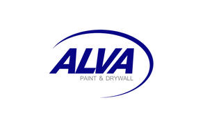 LOGO DESIGNED BY HALO ALVA PAINT AND DRY