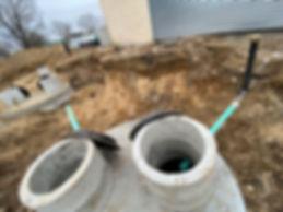 Cesspool Cap Installation