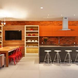 Cozinha com Tradizionale Rosso