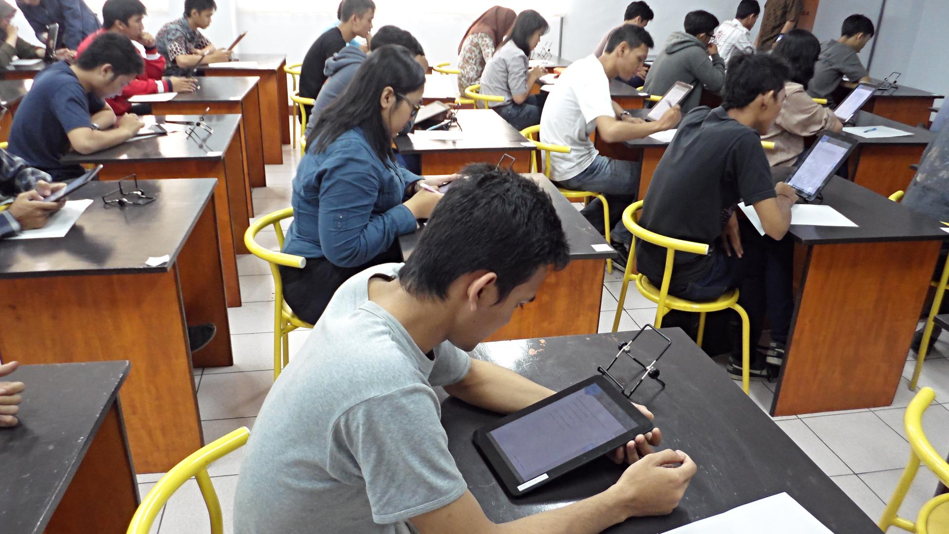 UBT & UBL di dalam kelas