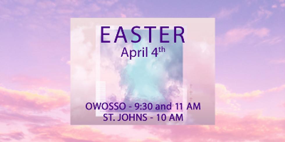 Easter Sunday - 9:30 AM (Mask Encouraged)