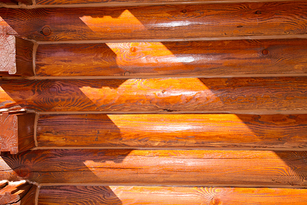 Log Home Staining, Sealing and chink