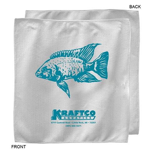 """Kraftco Aquatics Microfiber Towel - 12"""" x 12"""""""