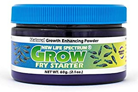 New Life Spectrum (Naturox Series) - Grow Fry Starter Powder 60 Grams