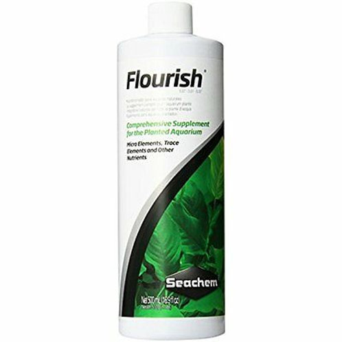 Seachem Flourish Freshwater Plant Supplement - 500mL
