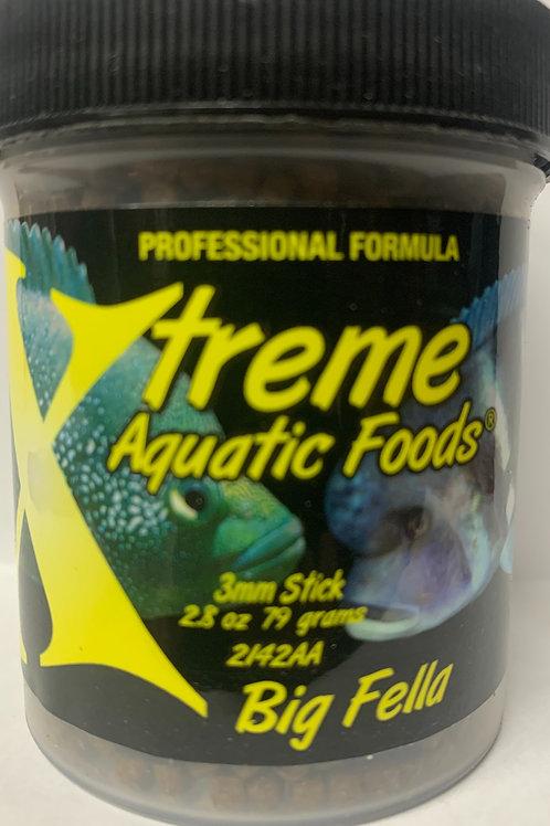 Xtreme Aquatic Foods Big Fella 2.8 oz 3mm Pellet
