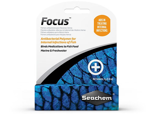 Seachem Focus Freshwater and Marine Fish Medication - 5 Grams