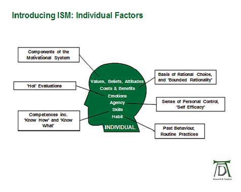 ISM Tool Individual Factors
