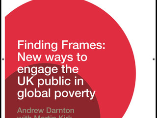 Finding Frames: New ways to engage the UK public in global poverty