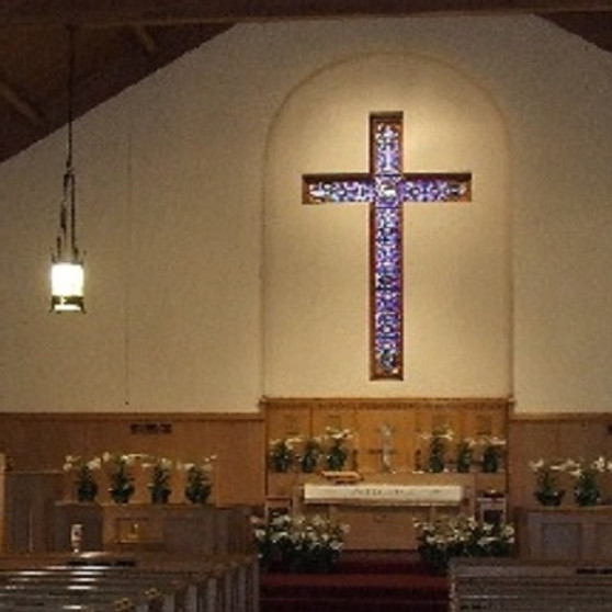 In Sanctuary worship at Crescentville UMC May 23, 2021
