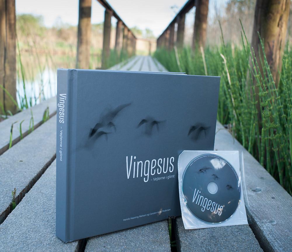 Bogen Vingesus - Vejlerne i glimt plus medfølgende DVD
