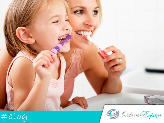 A higiene oral na infância