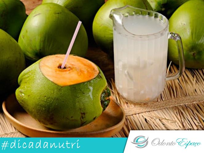 Os benefícios da Água de Coco #dicadanutri