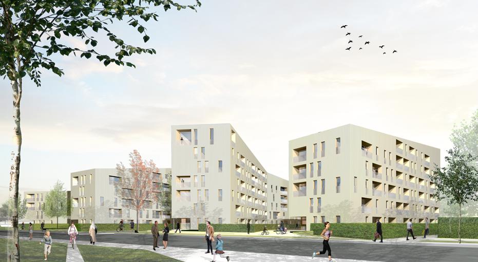 Neubau Wohnungsbau Daxlanden