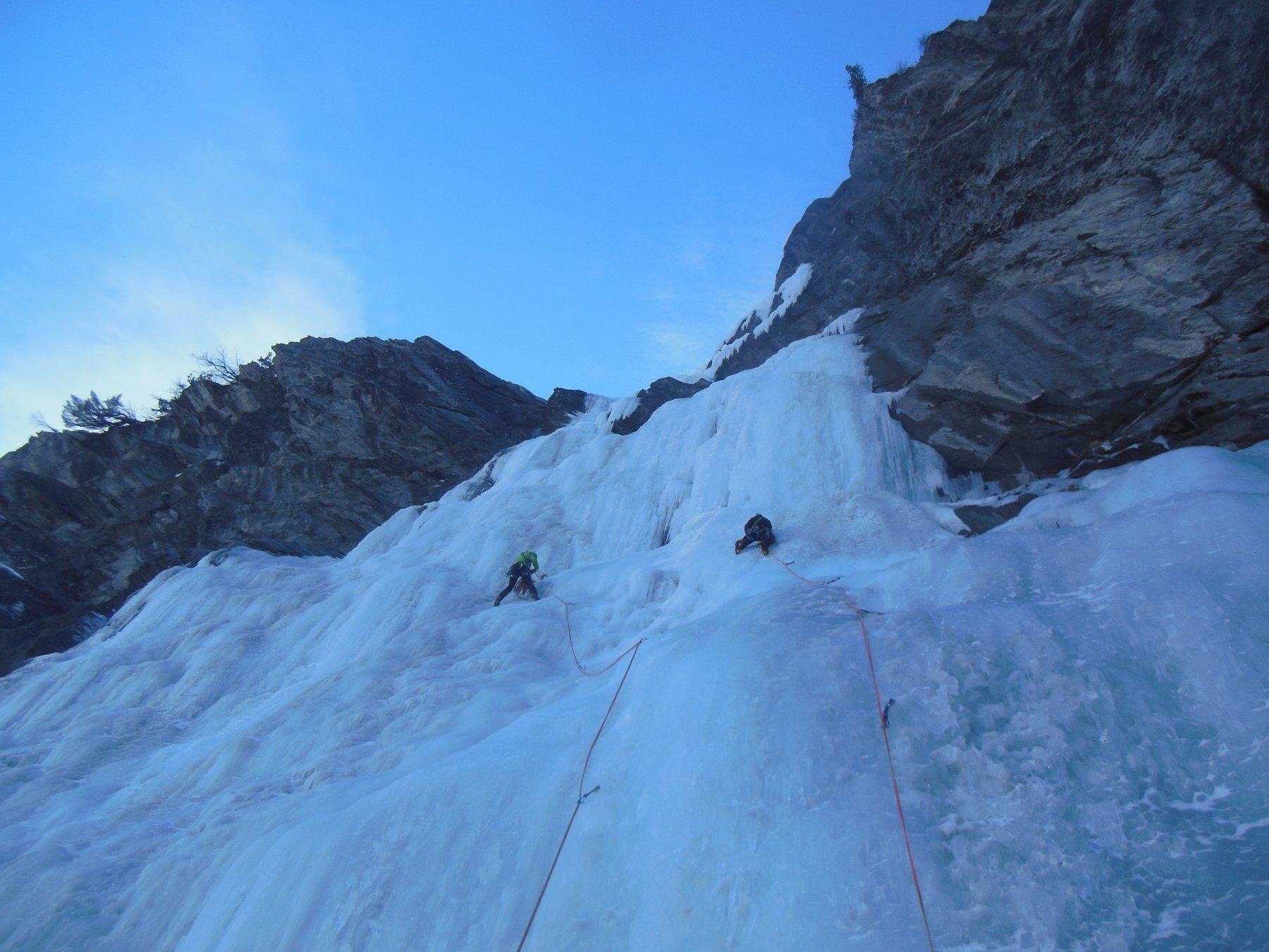 cascate ghiaccio valle argentera
