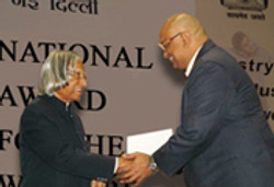 National Award for the Welfare of Disabled - 2005