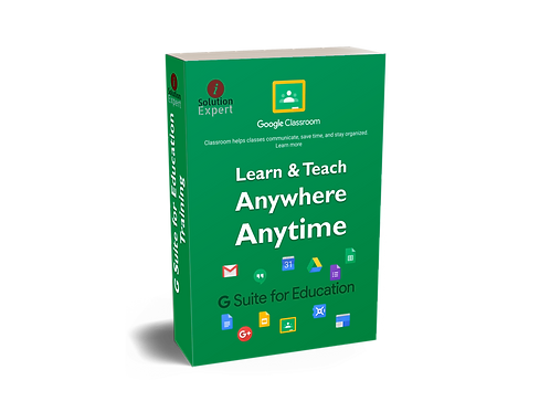 Video Course of Google Classroom, Drive & Docs