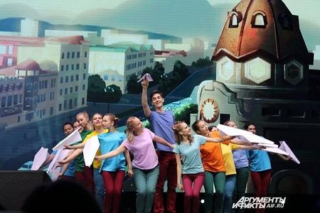 Большой фестиваль мультфильмов в Хабаровске