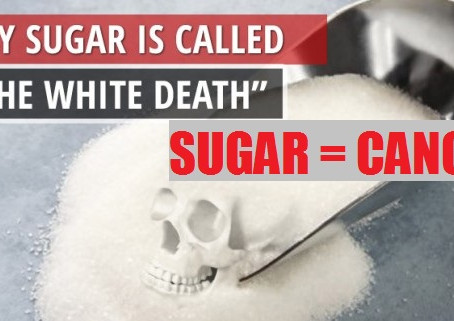 """Sugar - """"The White Death"""" and the Sugar-Cancer Connection"""
