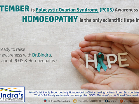 POLYCYSTIC OVARIAN SYNDROME (PCOS) AWARENESS MONTH