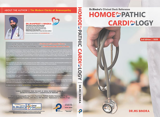 Homoeopathic Cardiology Book Dr Bindra